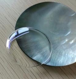 Domed sapphire crystal - Von Doren