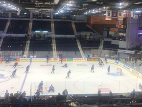Amerks get struck by the Comets