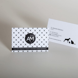 Vet business cards