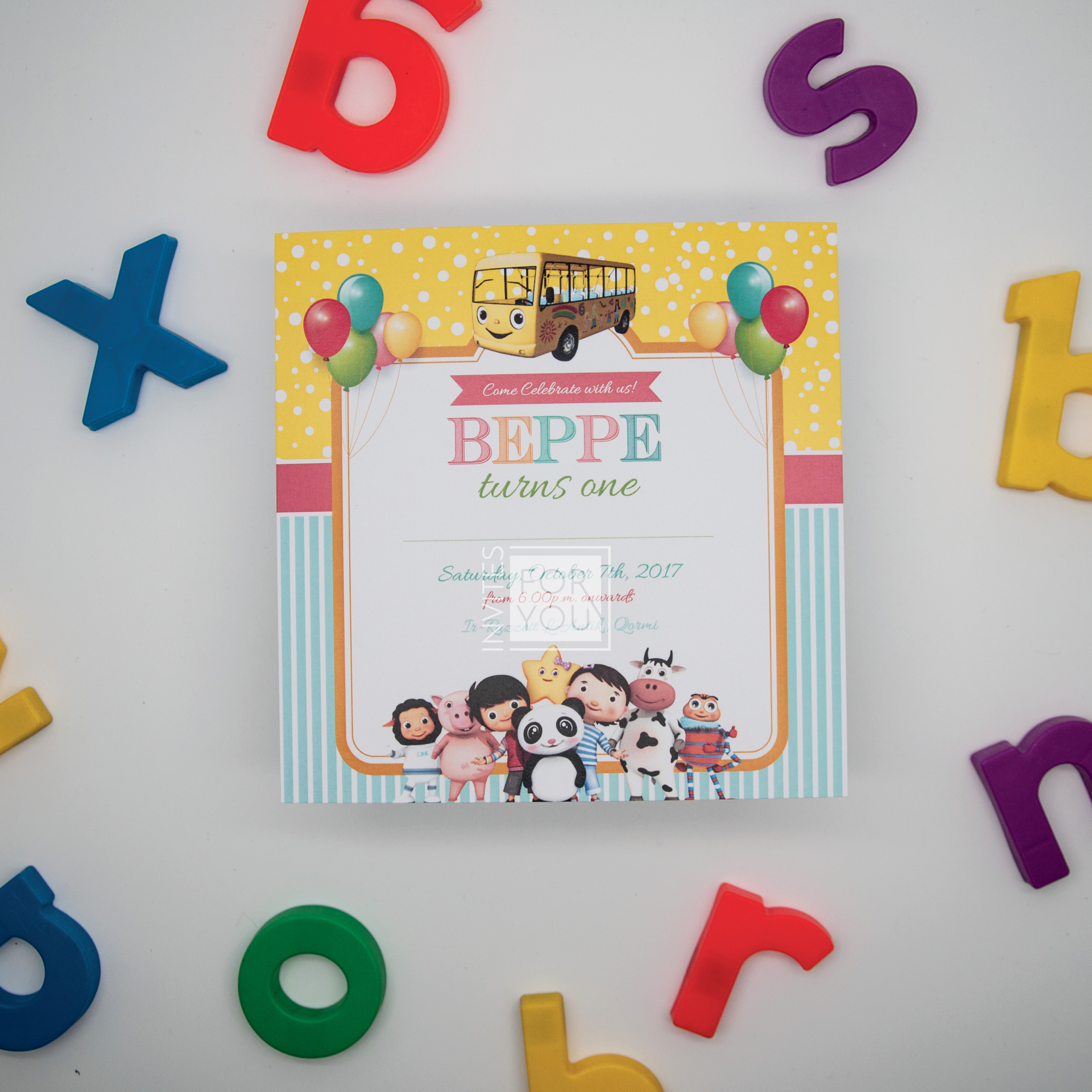 Kids Party Invitation