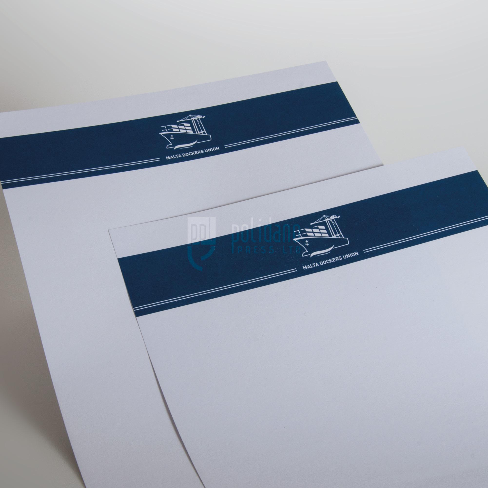 MDU letterheads