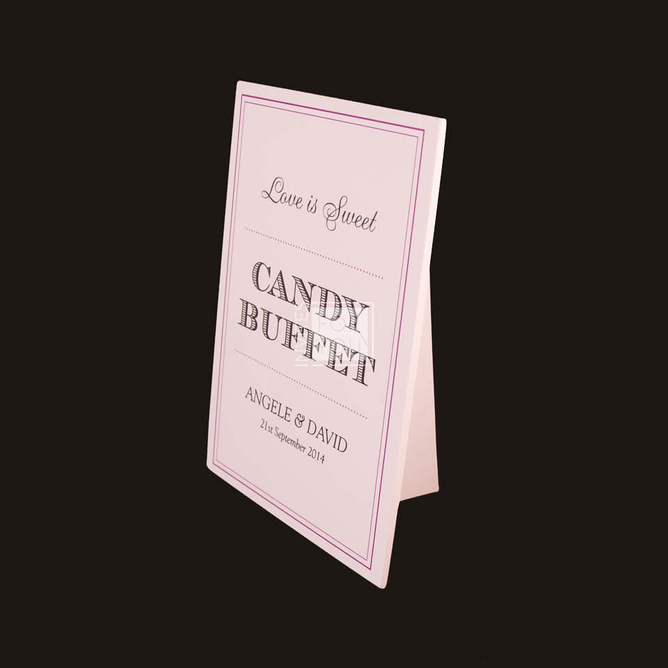 Candy buffet PVC stand