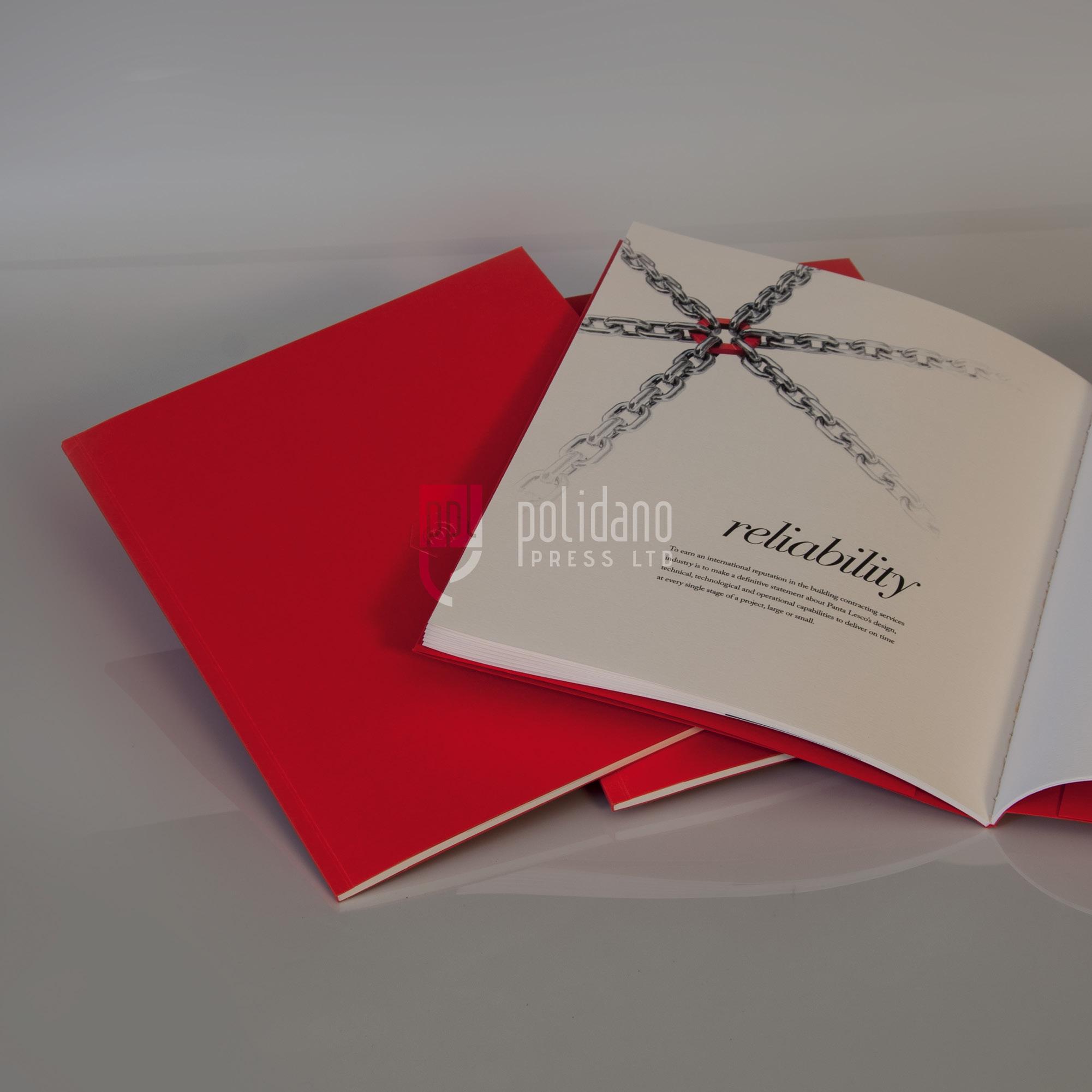 Perfect Bound Corporate Book