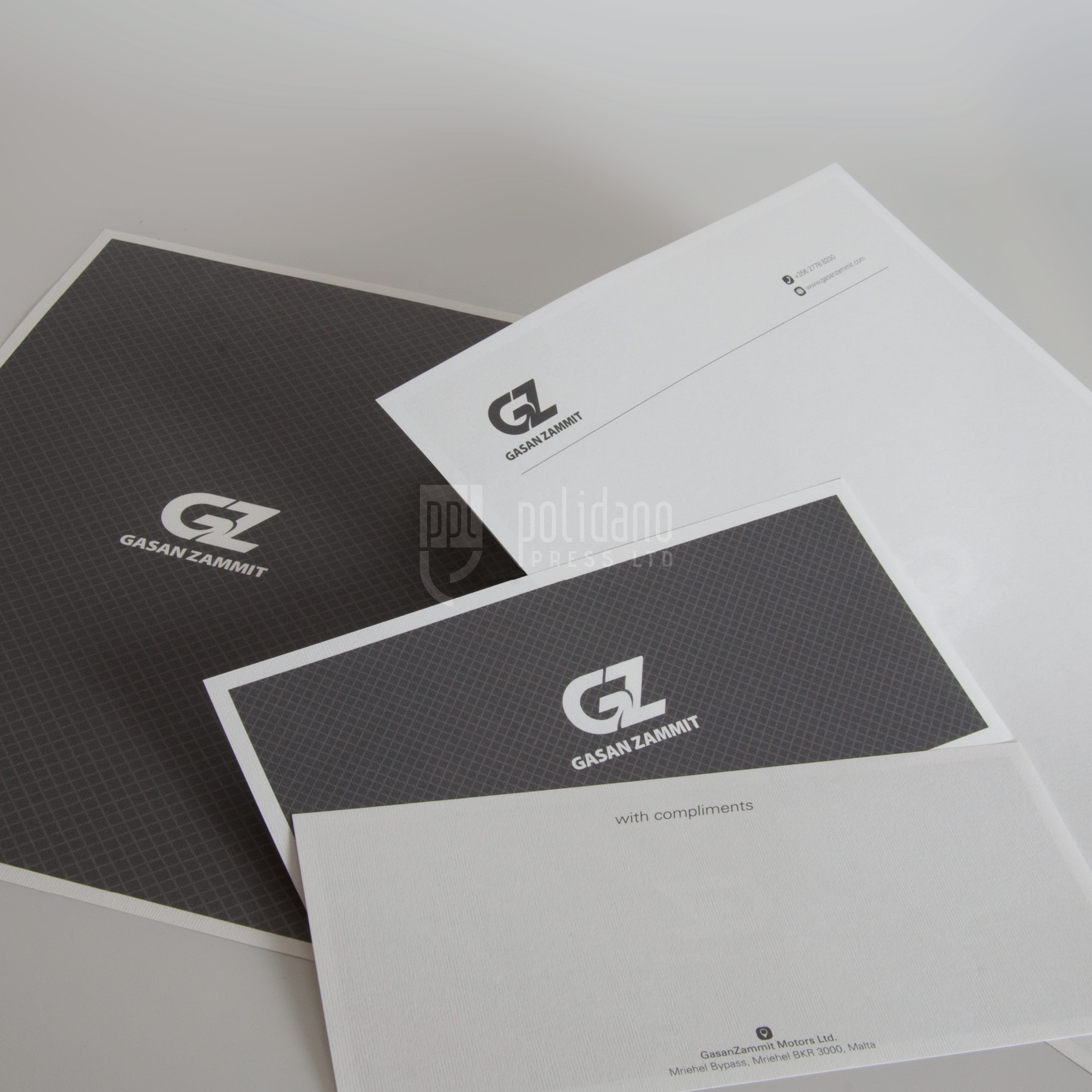 Gasan Zammit stationery