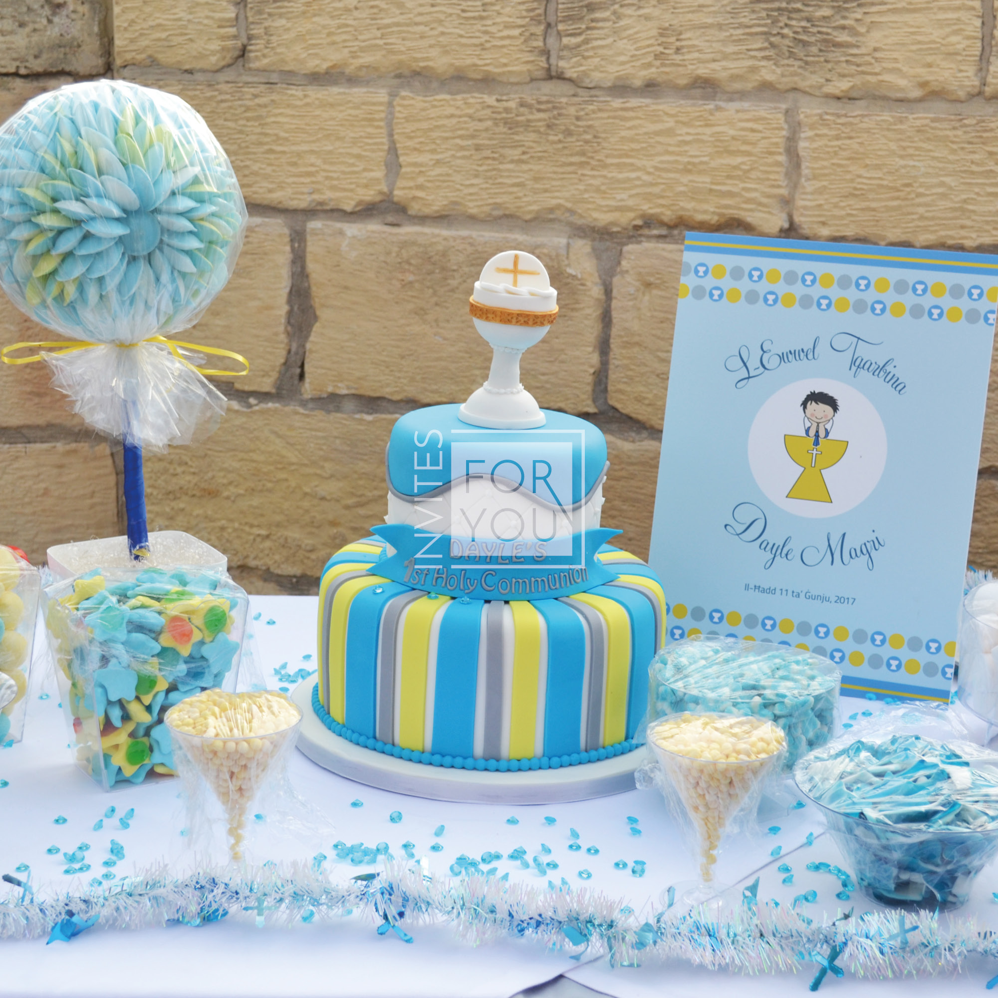 Holy Communion Cake Stand