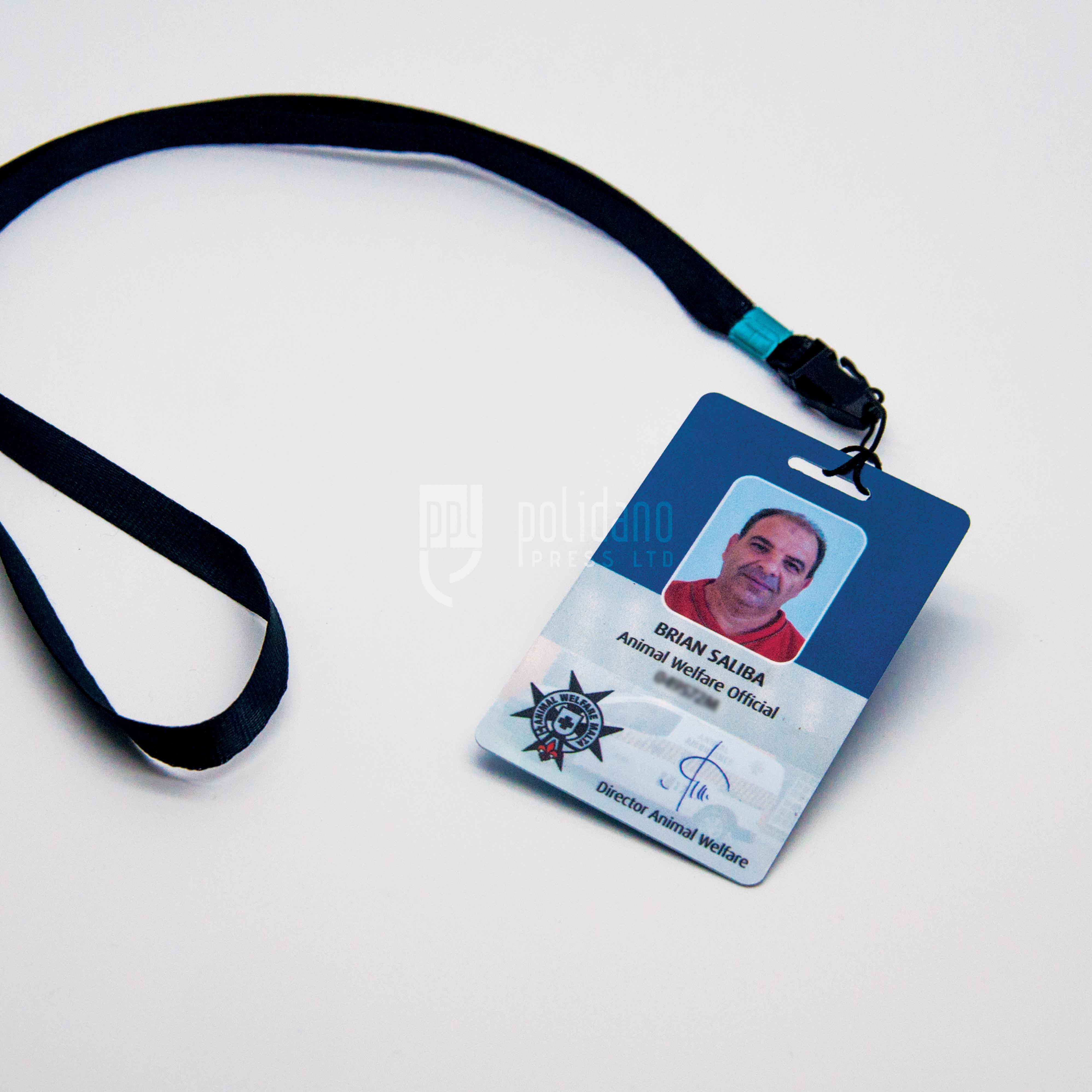 Employee PVC cards