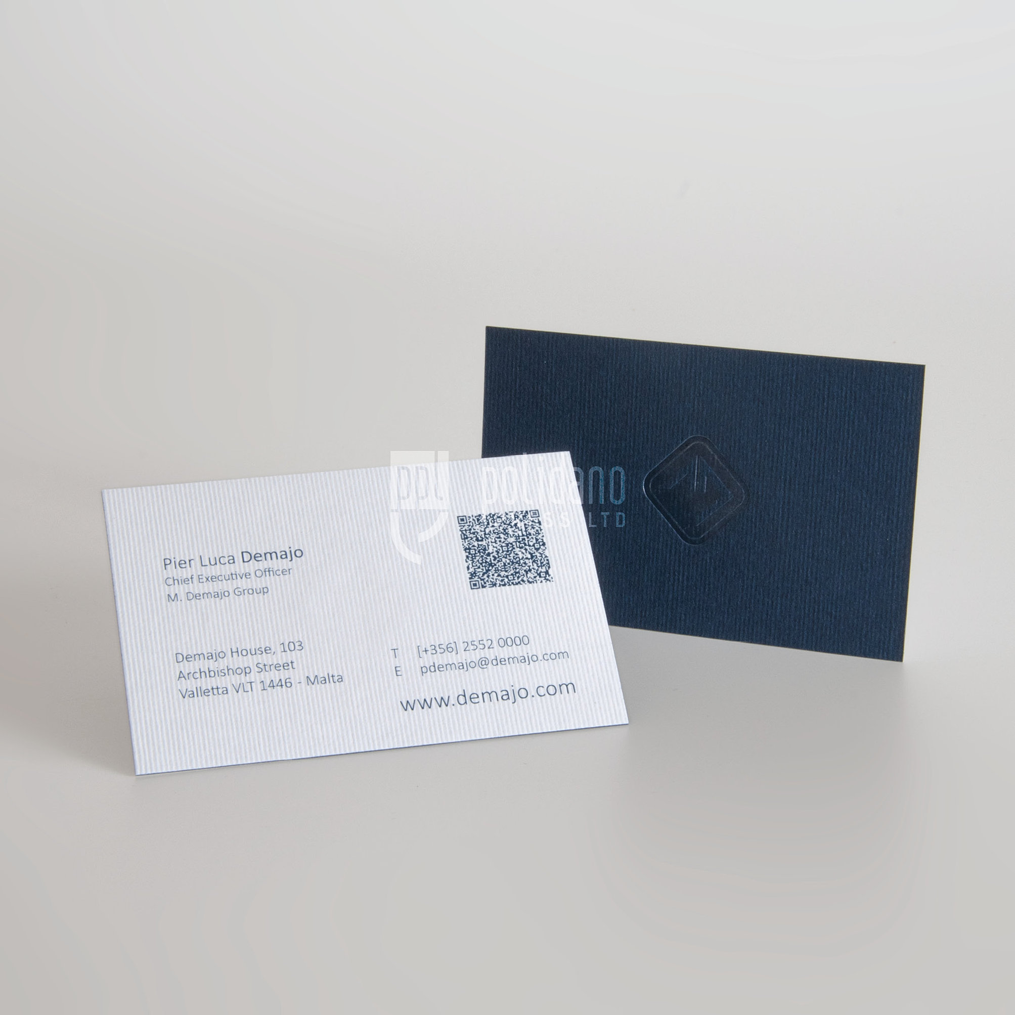 Polidano Press LTD | High End Business Cards