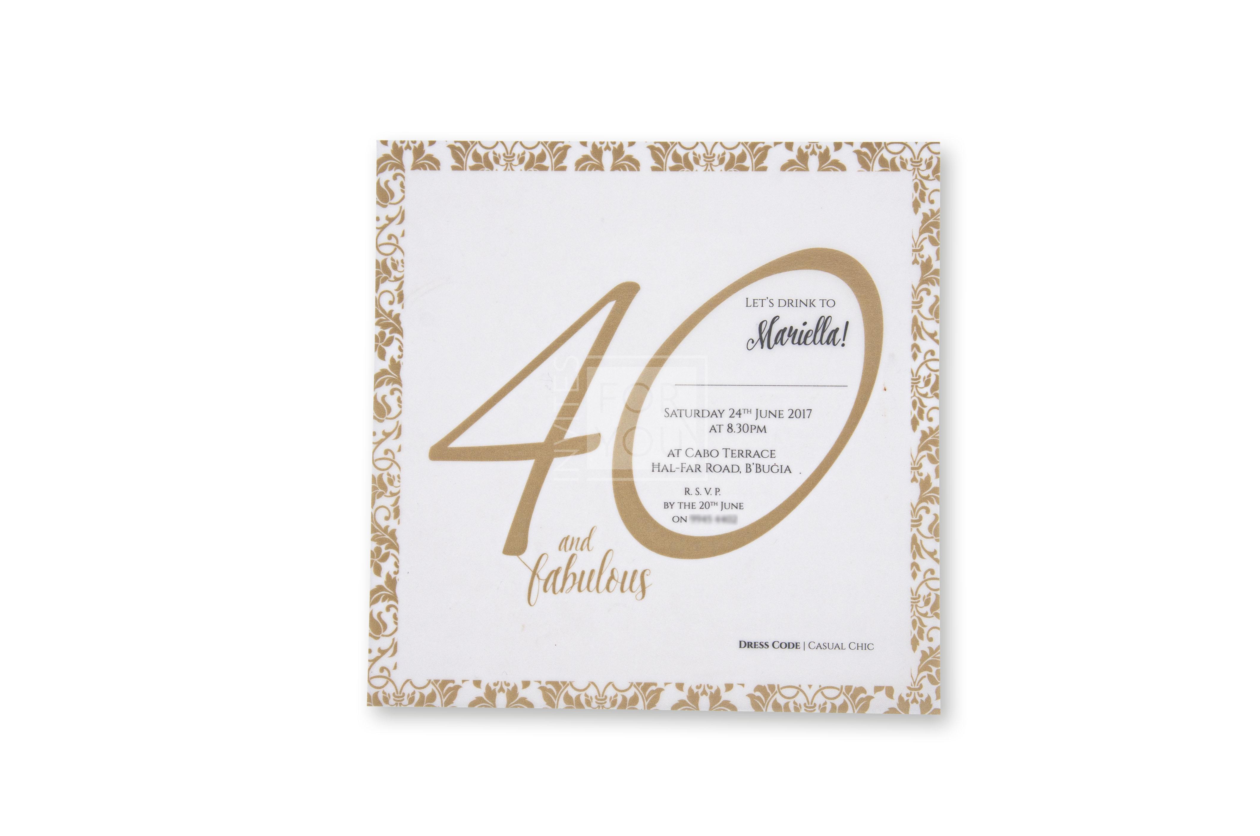 40 Mariella