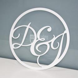 Custom Cut Wedding Signage