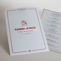 Flavours of Malta Menu