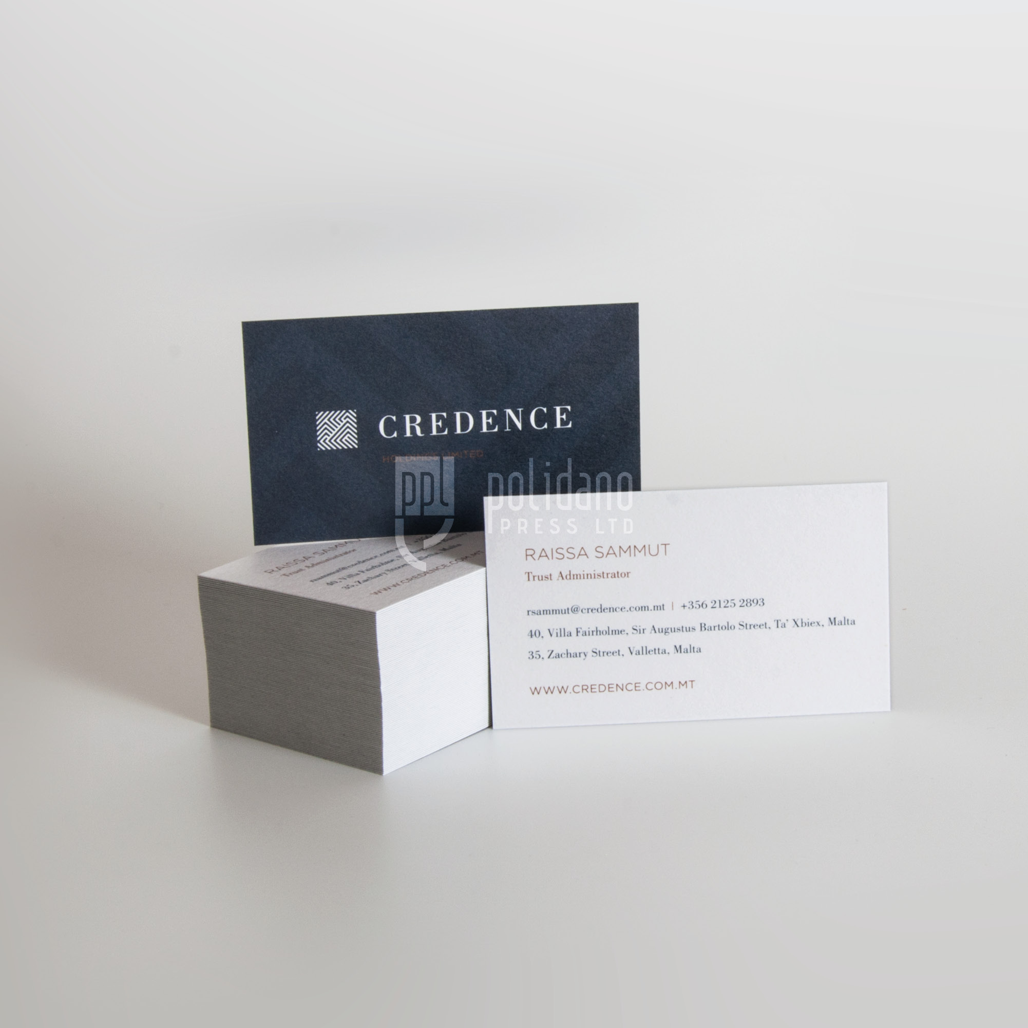 Credence business cards