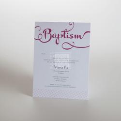 Baptism Invite