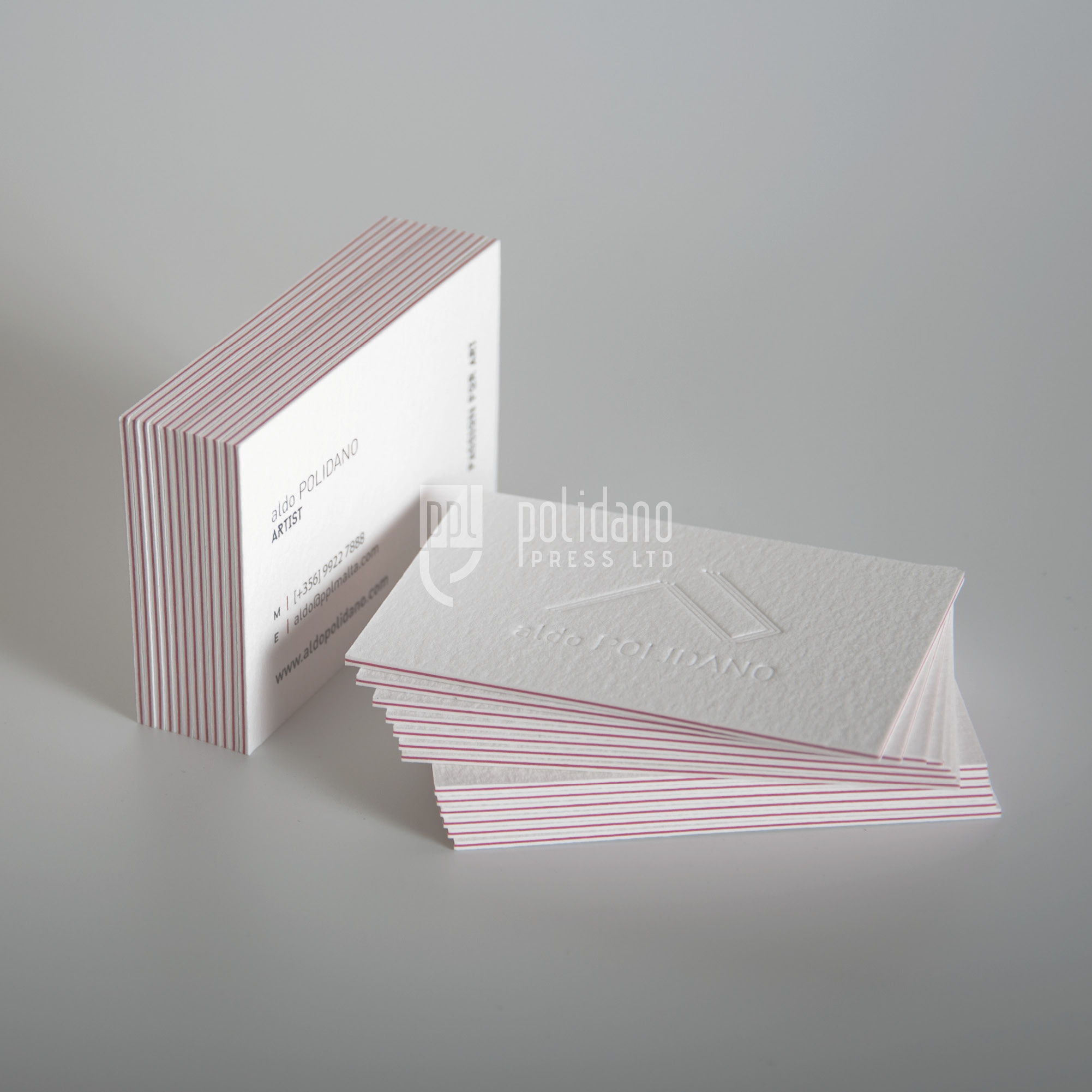 3 ply - debossing - transparent foil