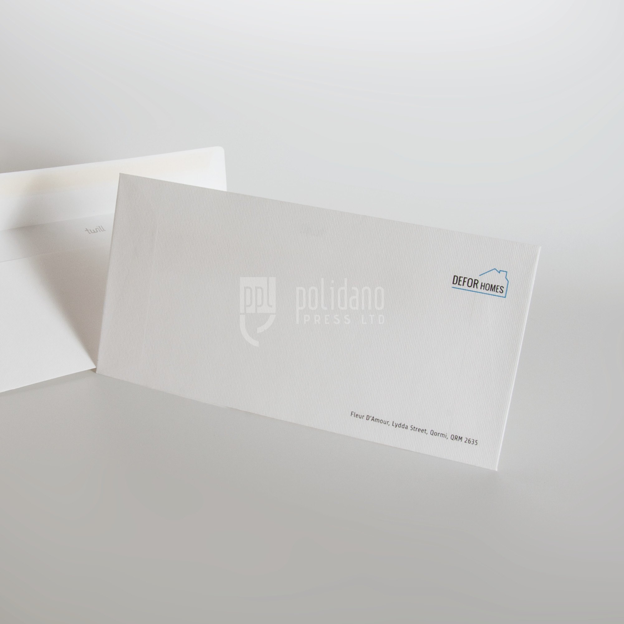Defor Homes envelopes