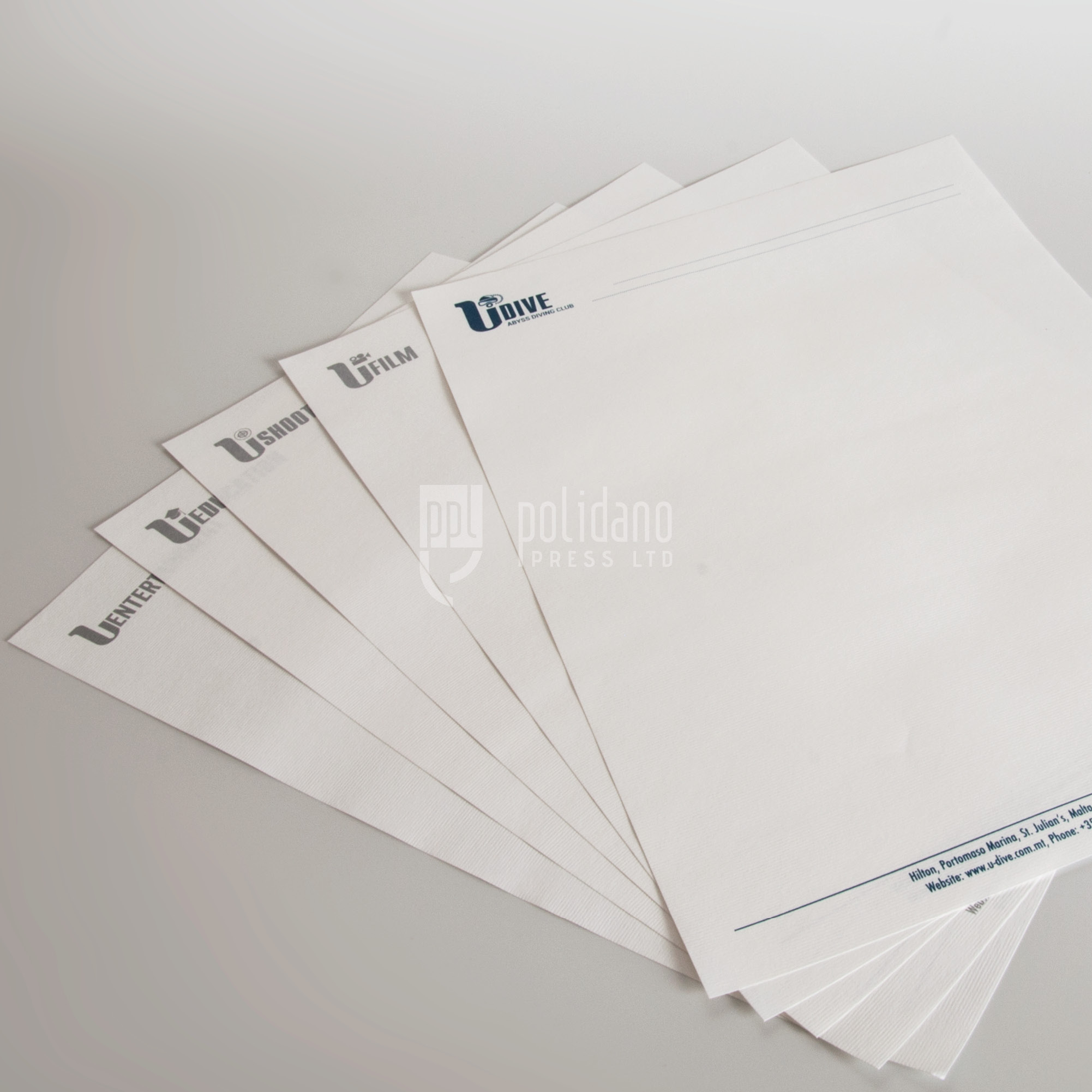 U group letterheads