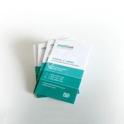 Medilink business card