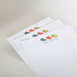 Three Little Pigs letterheads