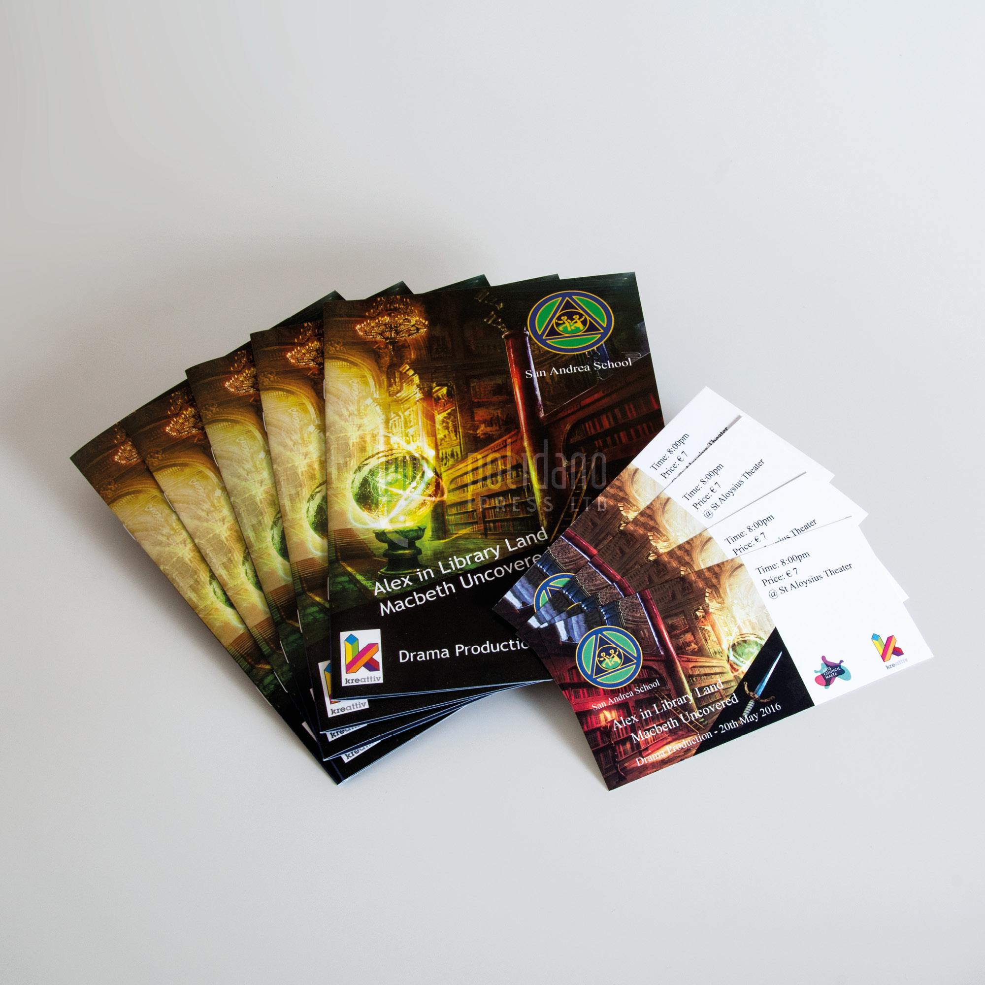 Booklets and tickets