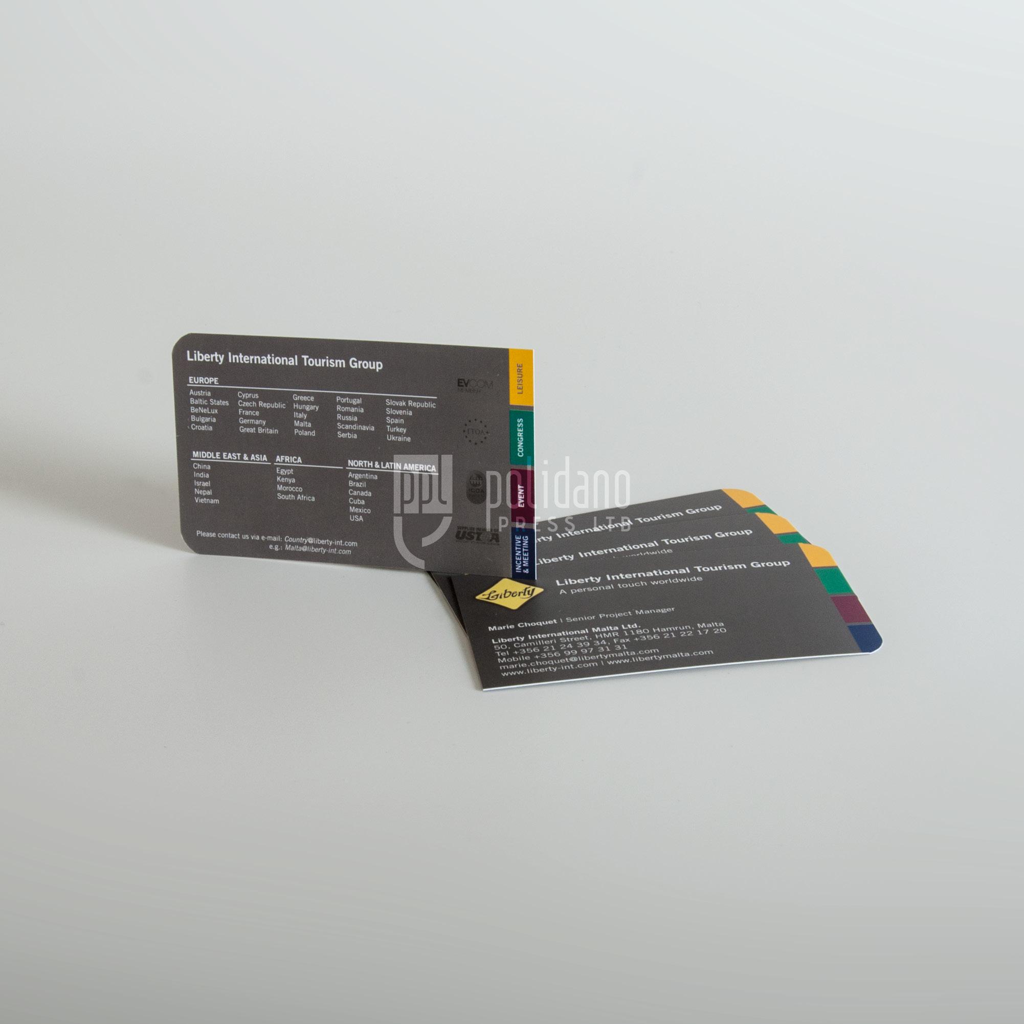 Round and Squarish corners cards