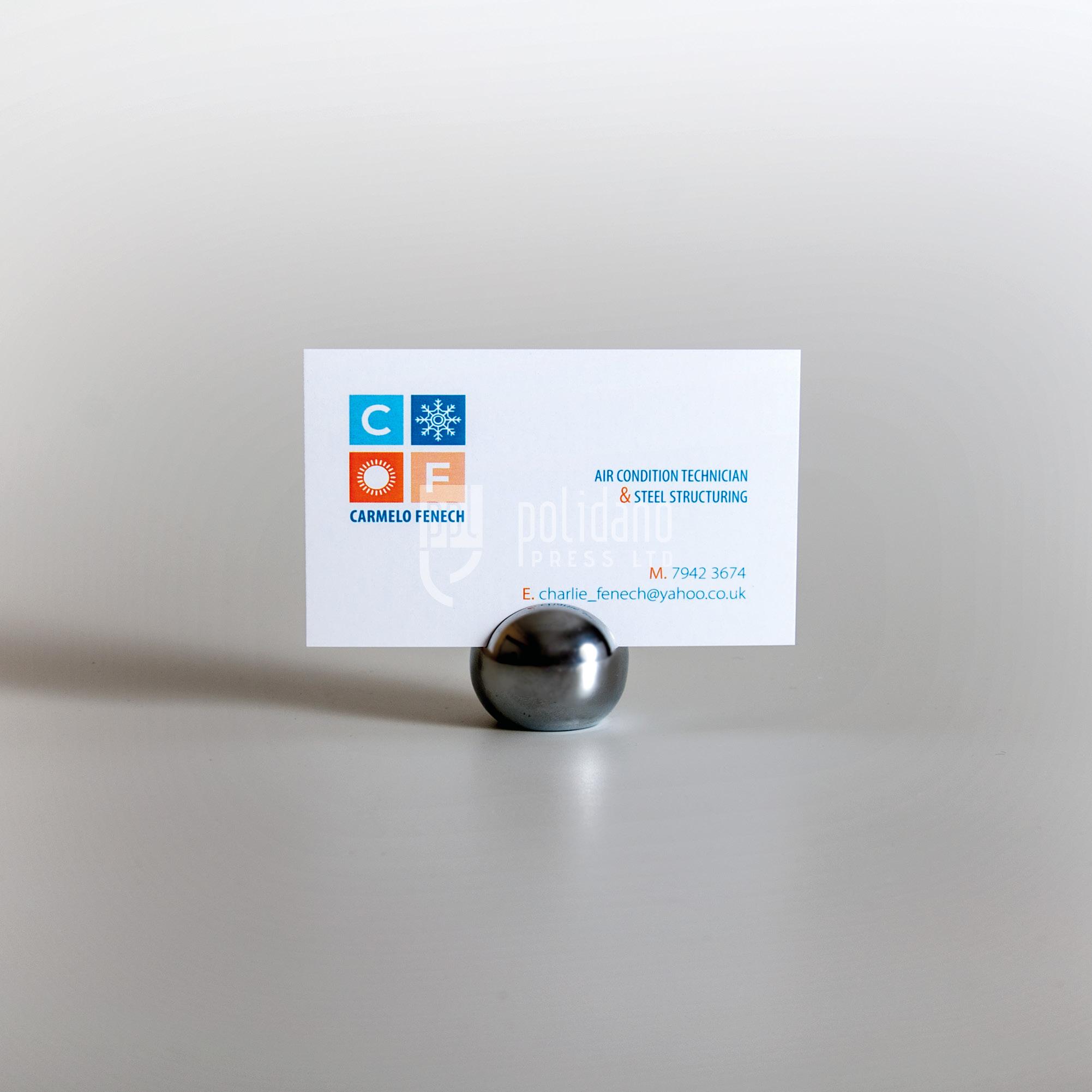 Carmelo Fenech business cards