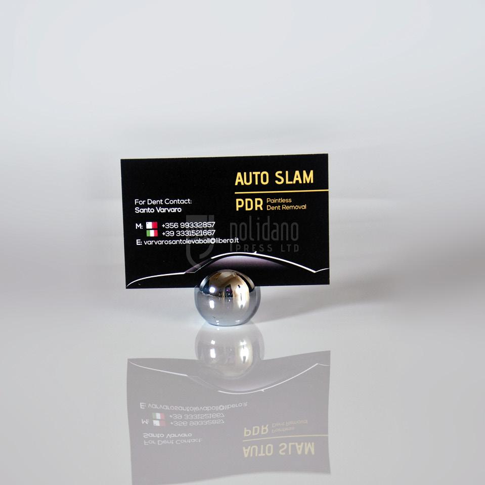 Auto Slam business cards