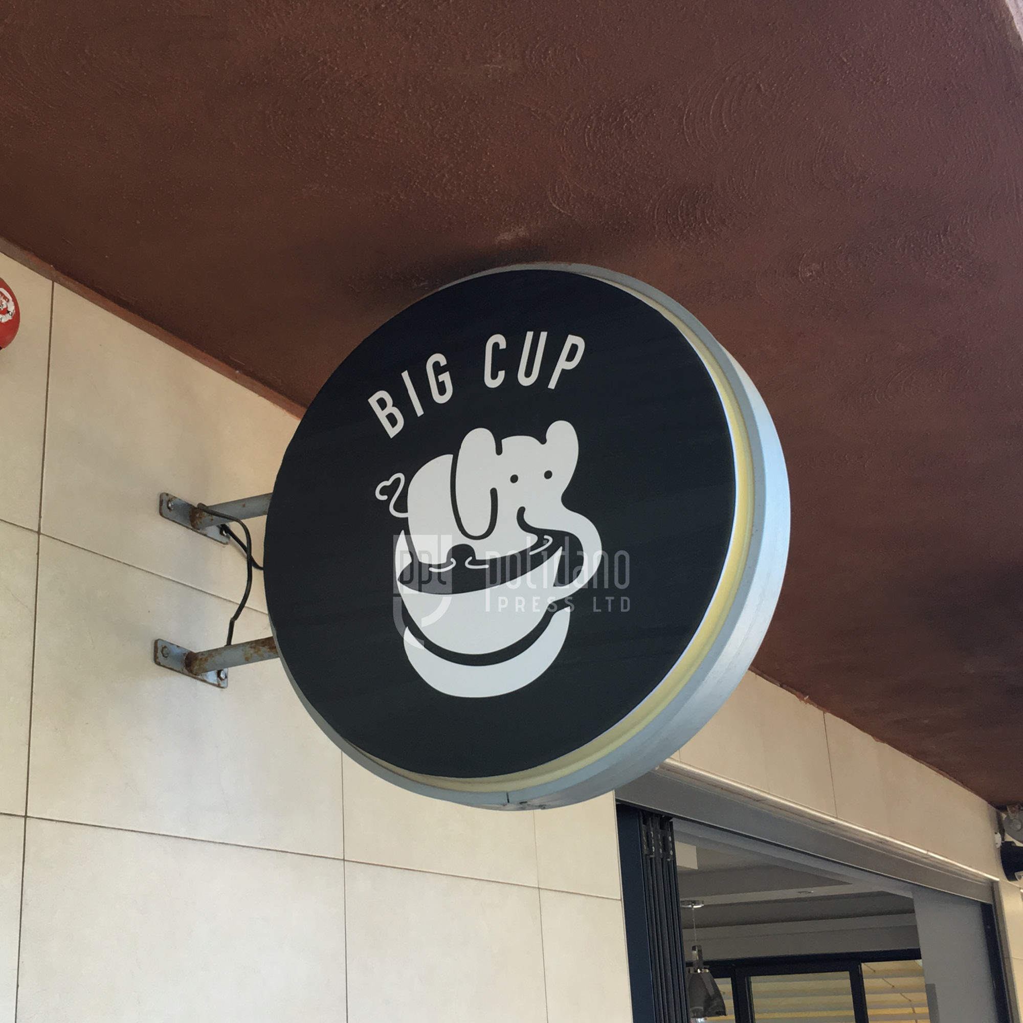 Big Cup Signage