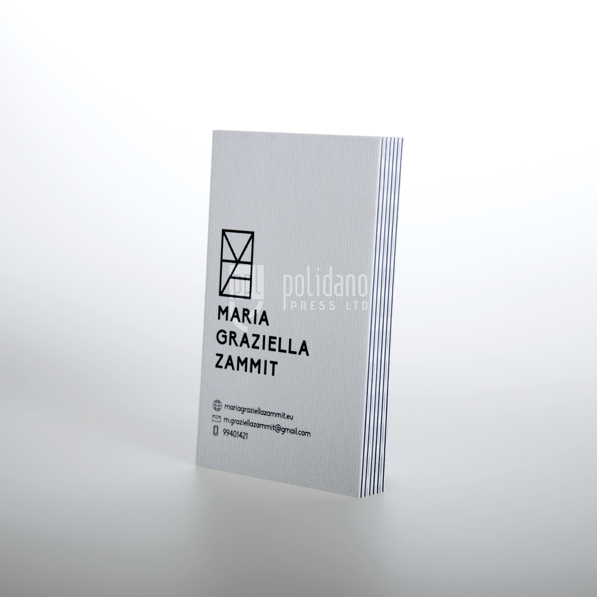 Maria Graziella Zammit business card