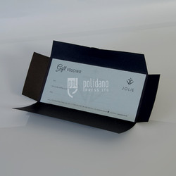 Jolie Gift Vouchers with pouch