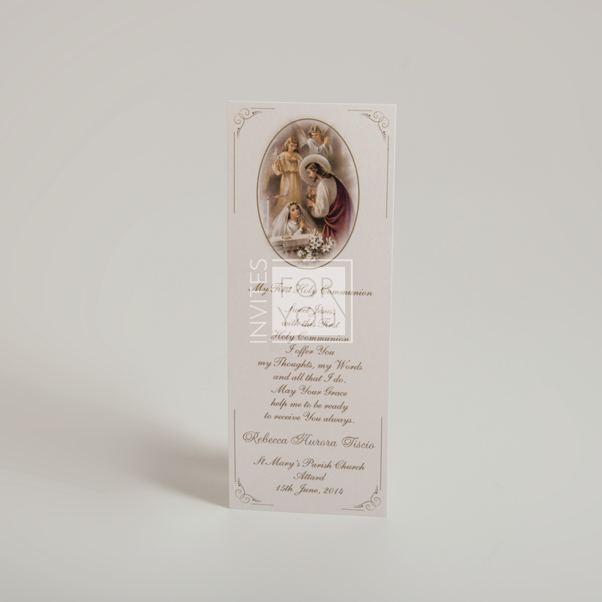Holy Communion Bookmark