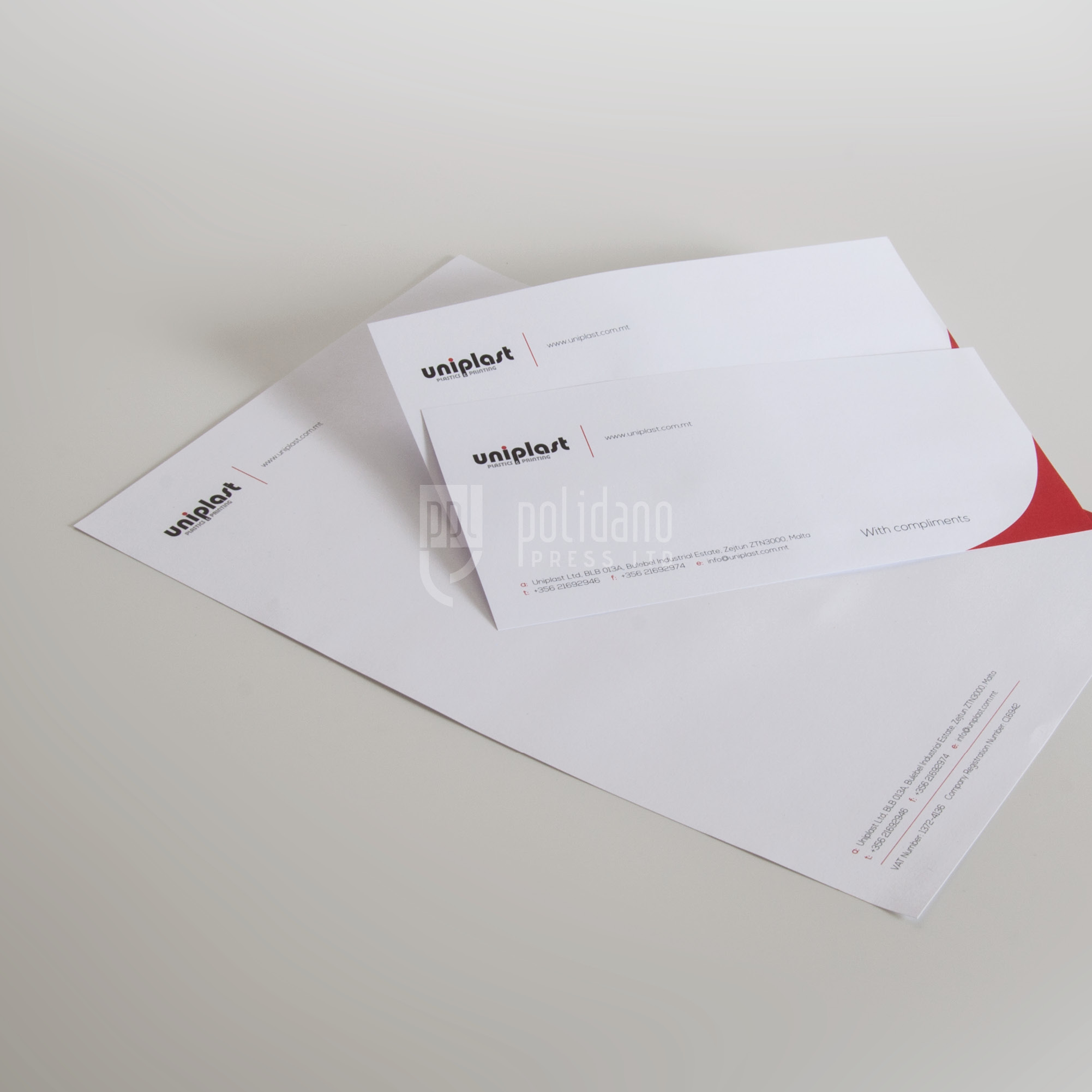 Uniplast stationery