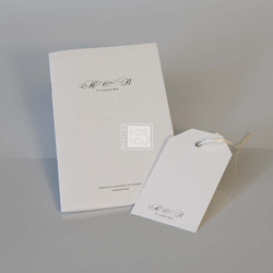 Mass booklet and tag