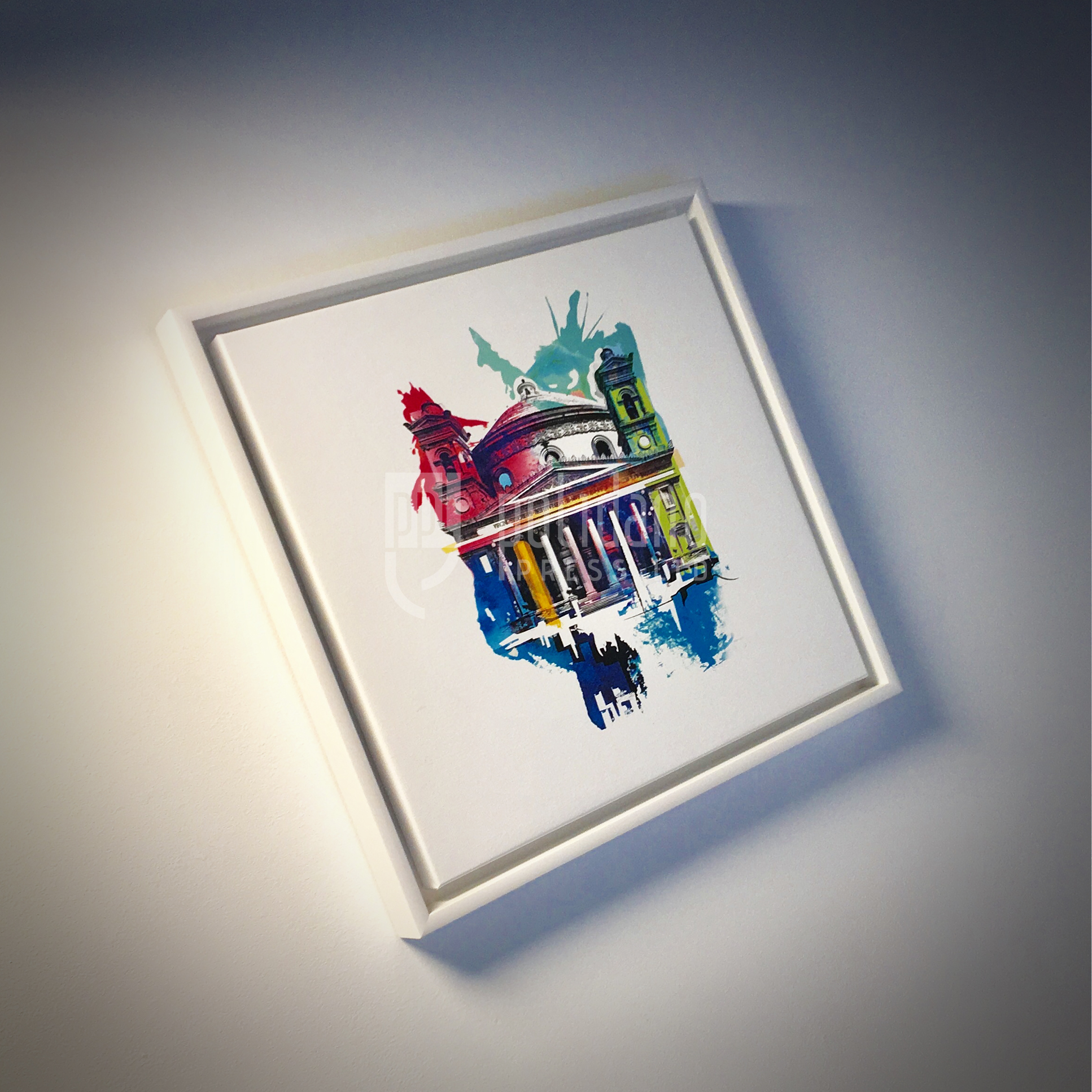Framed Canvas_Rotunda Mosta