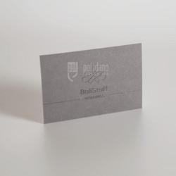 Balistuff raised printed 2 ply cards