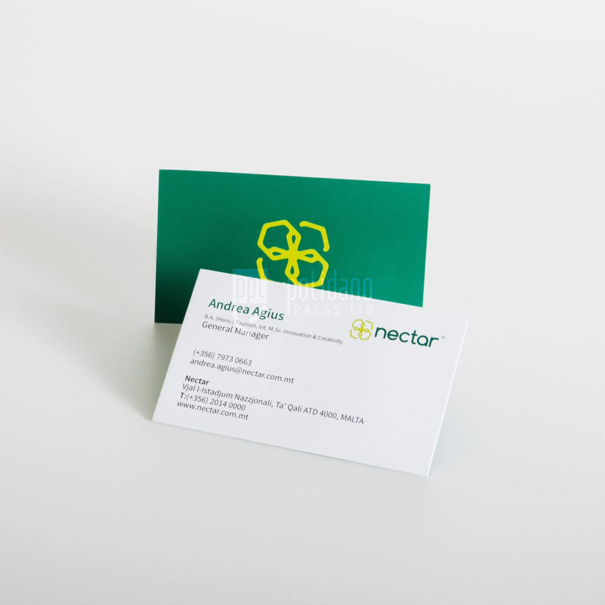 Nectar business cards
