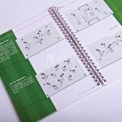 Spiral Football Booklet