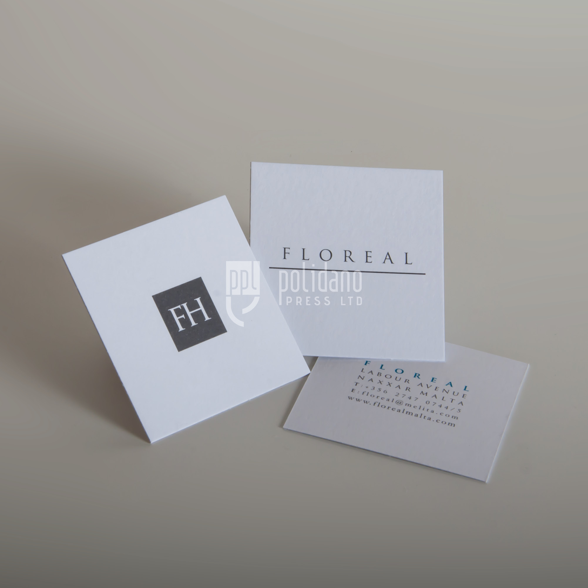 Floreal business cards