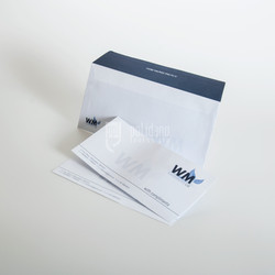 WM envelopes and compliment slips