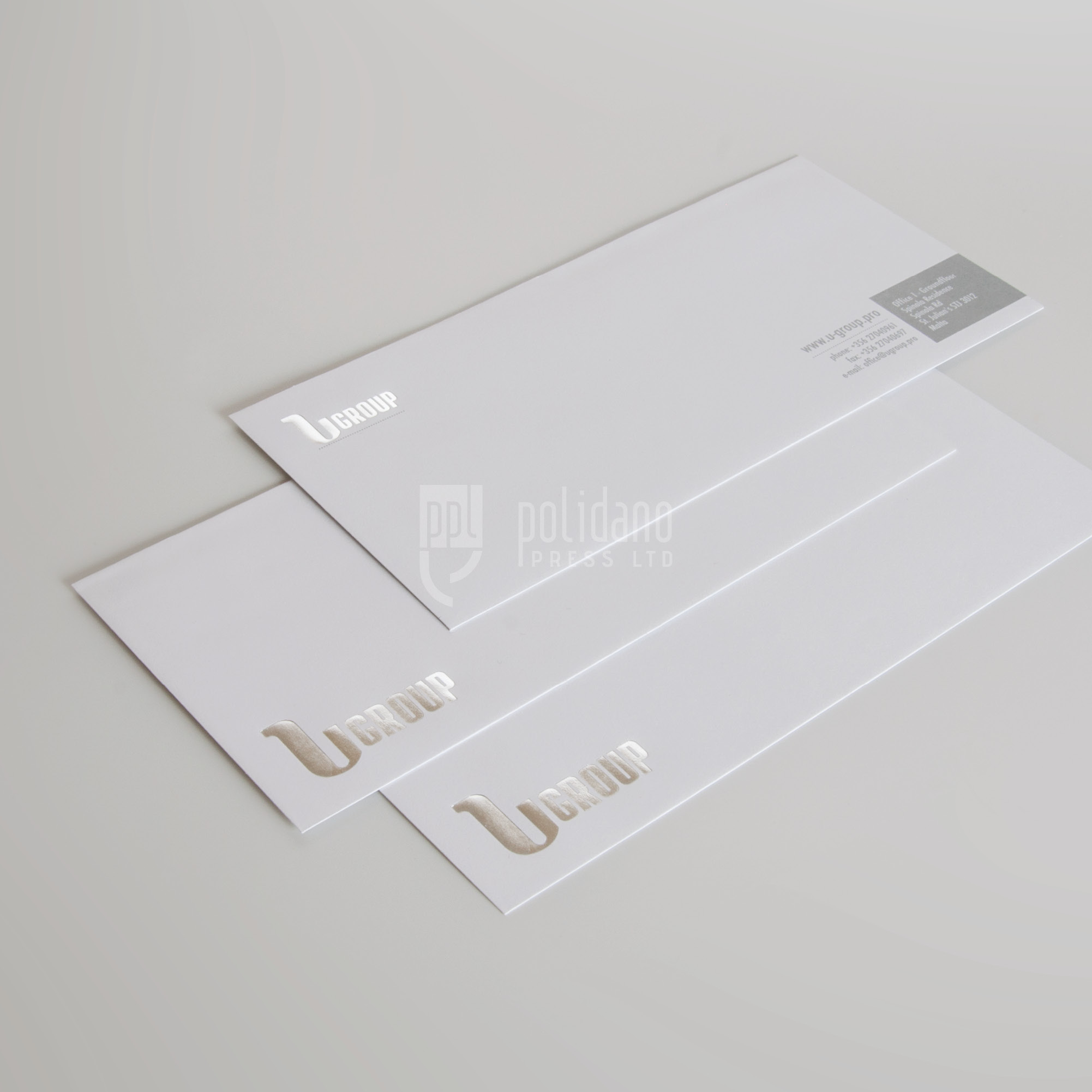 U group envelopes