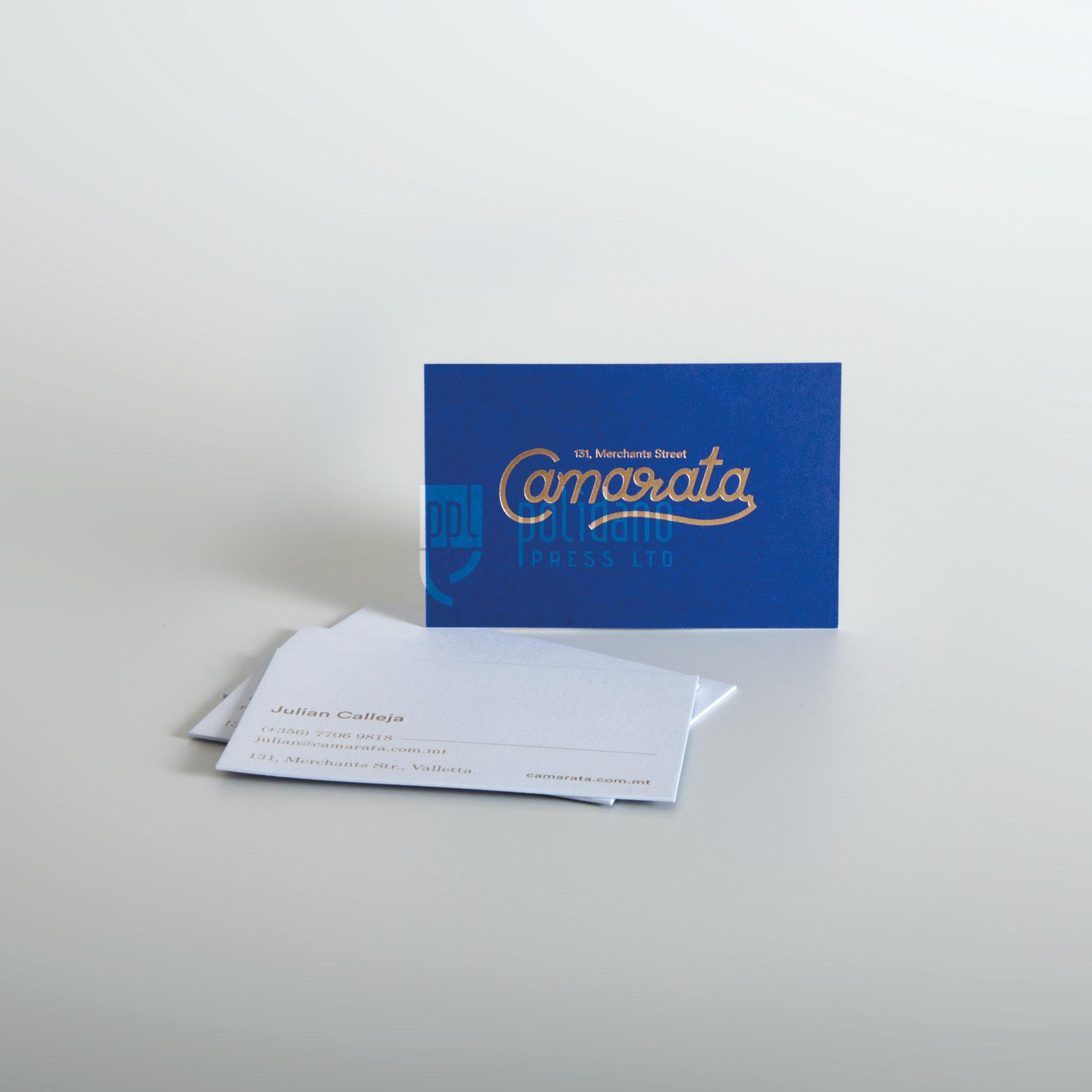 Camarata - 2 ply - gold foil