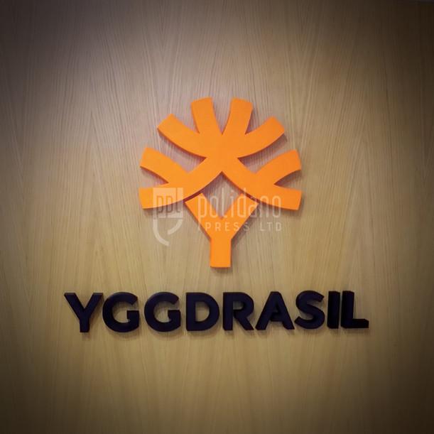 YGGDRASIL 3D Logo