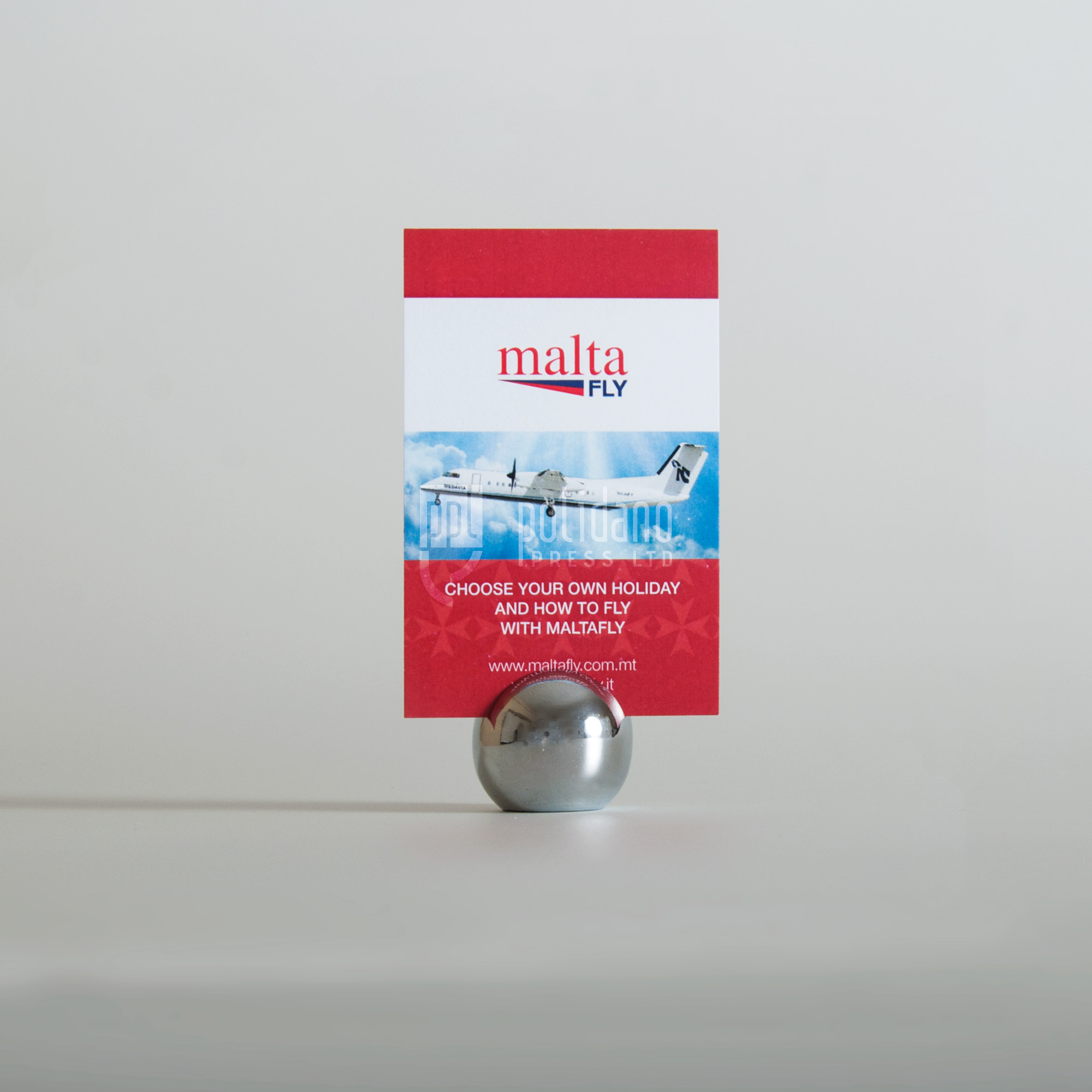 Malta Fly business cards