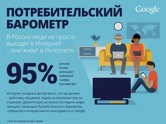 Интересная статистика о Российских интернет-пользователях от Гугла