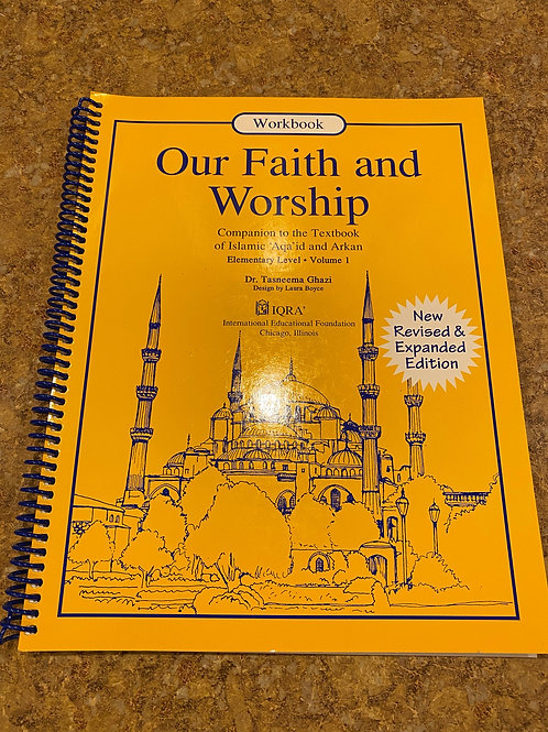 Our Faith and Worship Vol. 1 (Work Book)