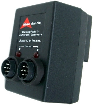 Chargeur double MicroAvionics MM002