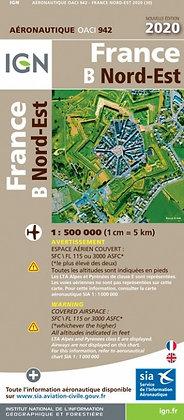 Carte OACI Nord-Est 1/500000