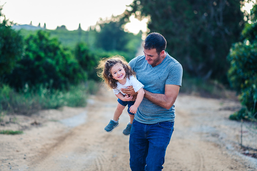 צילומי משפחה מיוחדים   צילומי משפחה בטבע   עמק חפר