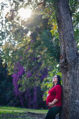 צילומי היריון בטבע