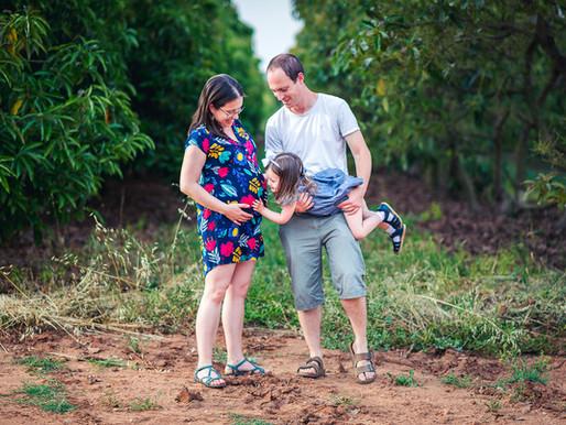 צילומי משפחה והיריון בטבע - עמק חפר