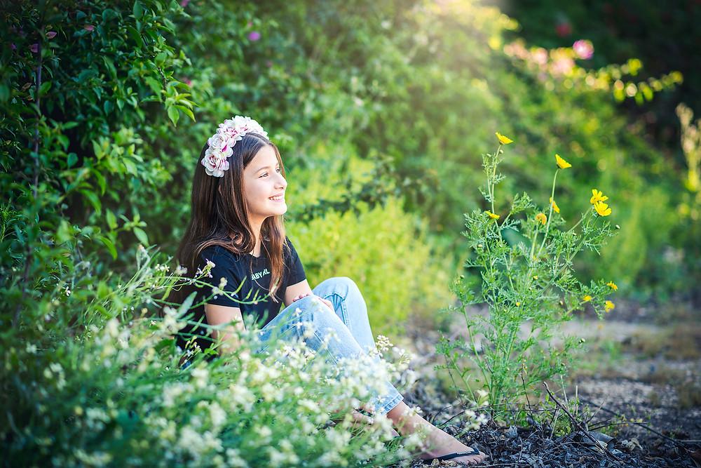 בוק בת מצווה בהפתעה | עמק חפר | אביבית צפריר צלמת