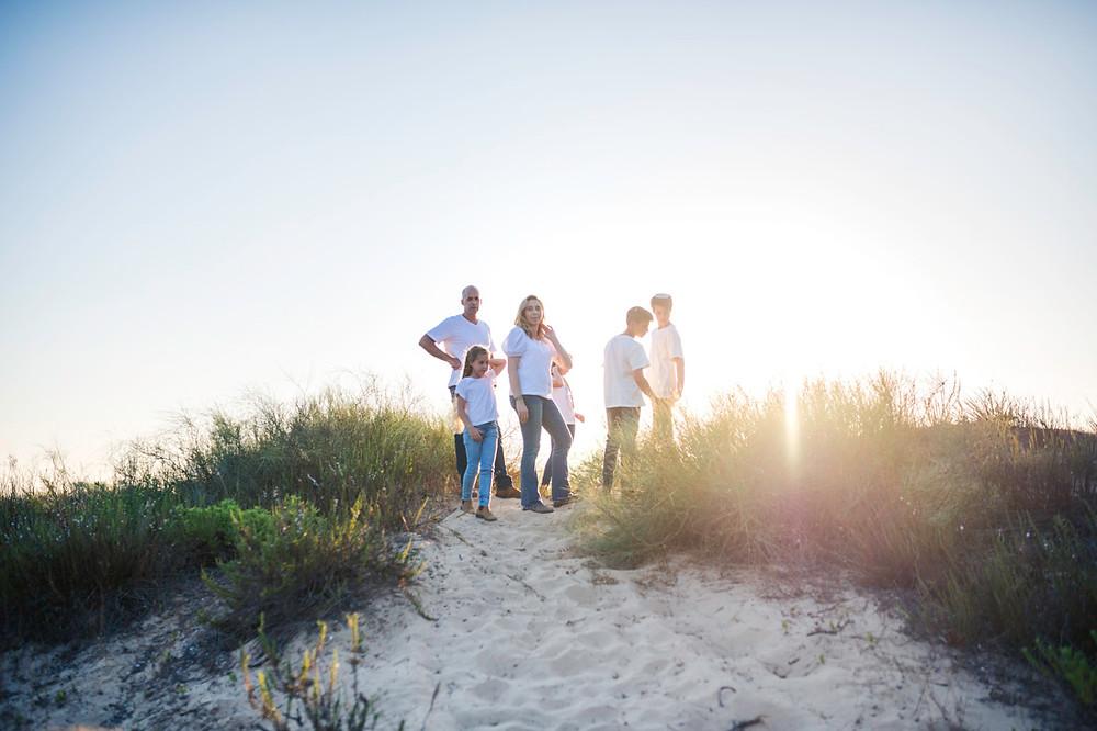 צילומי משפחה בטבע של עמק חפר
